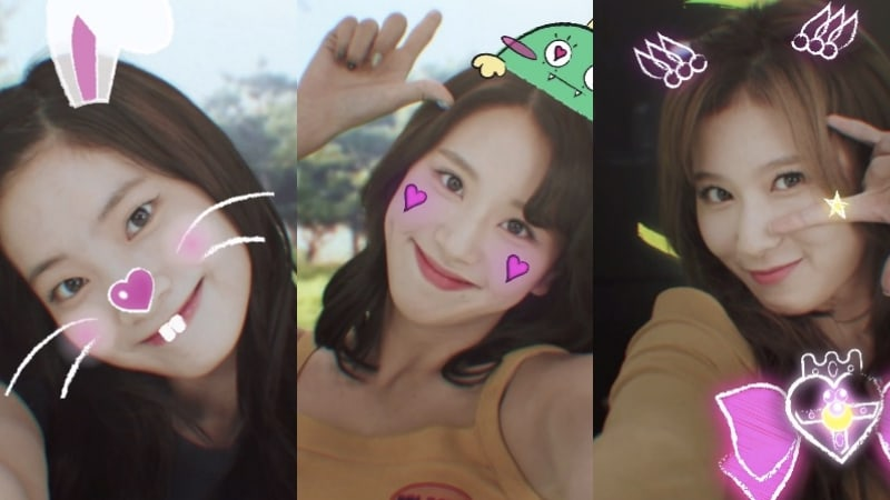 """Update: TWICE Takes More Cute Selfie Videos In New """"Likey"""" Teasers"""