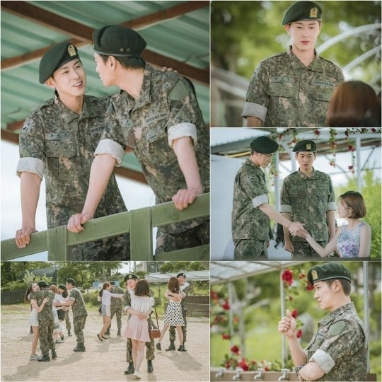 "TVXQ's Yunho Returns To Military Life In New ""Melo Holic"" Stills"
