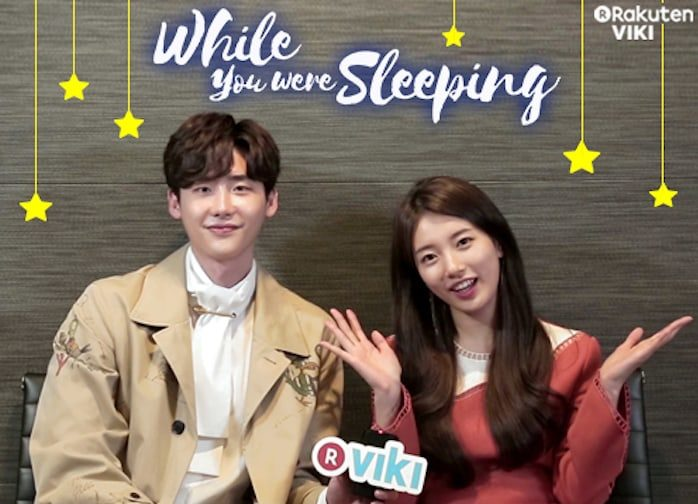 """Watch """"While You Were Sleeping"""" Stars Lee Jong Suk And Suzy's Interview + Win Signed Posters"""