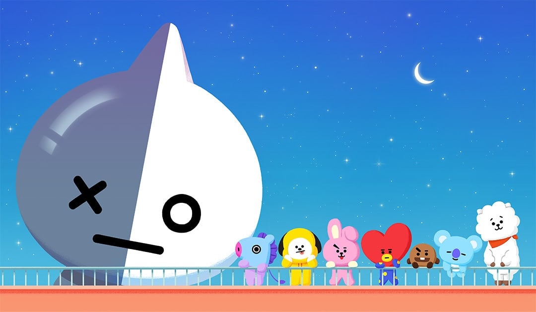 Watch Bts Shows How They Designed Their Own Original Line Friends