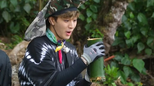 "PD Of ""Law Of The Jungle"" Praises iKON's Yunhyeong For His Attitude On The Show"