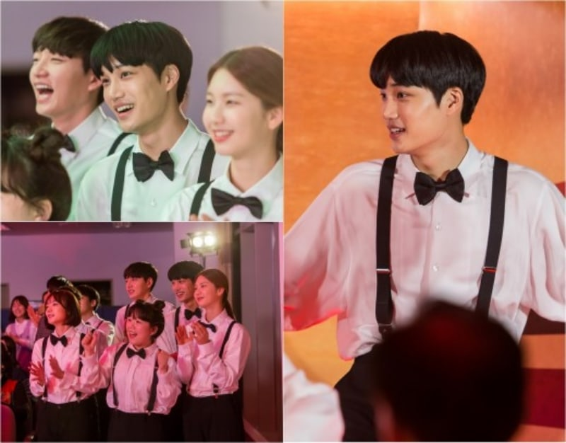 """EXO's Kai Dresses Up In Suspenders And Bow Tie In New """"Andante"""" Stills"""