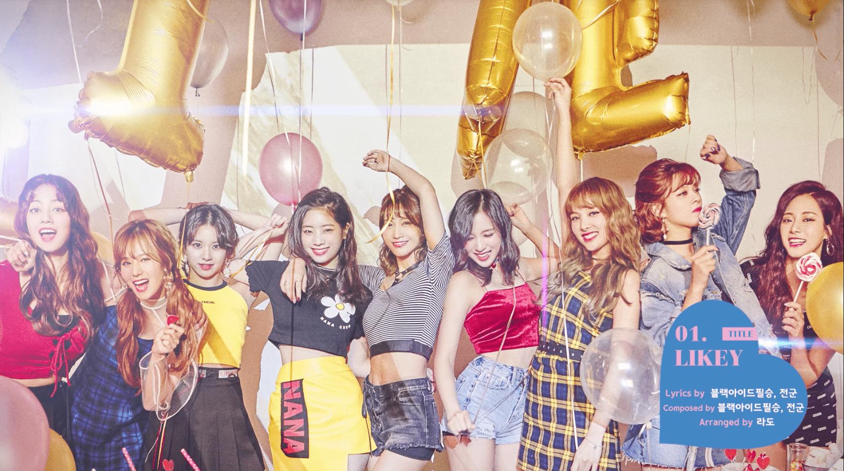 "TWICE Maintains Top Spot With ""LIKEY""; Soompi's K-Pop Music Chart 2017, November Week 4"