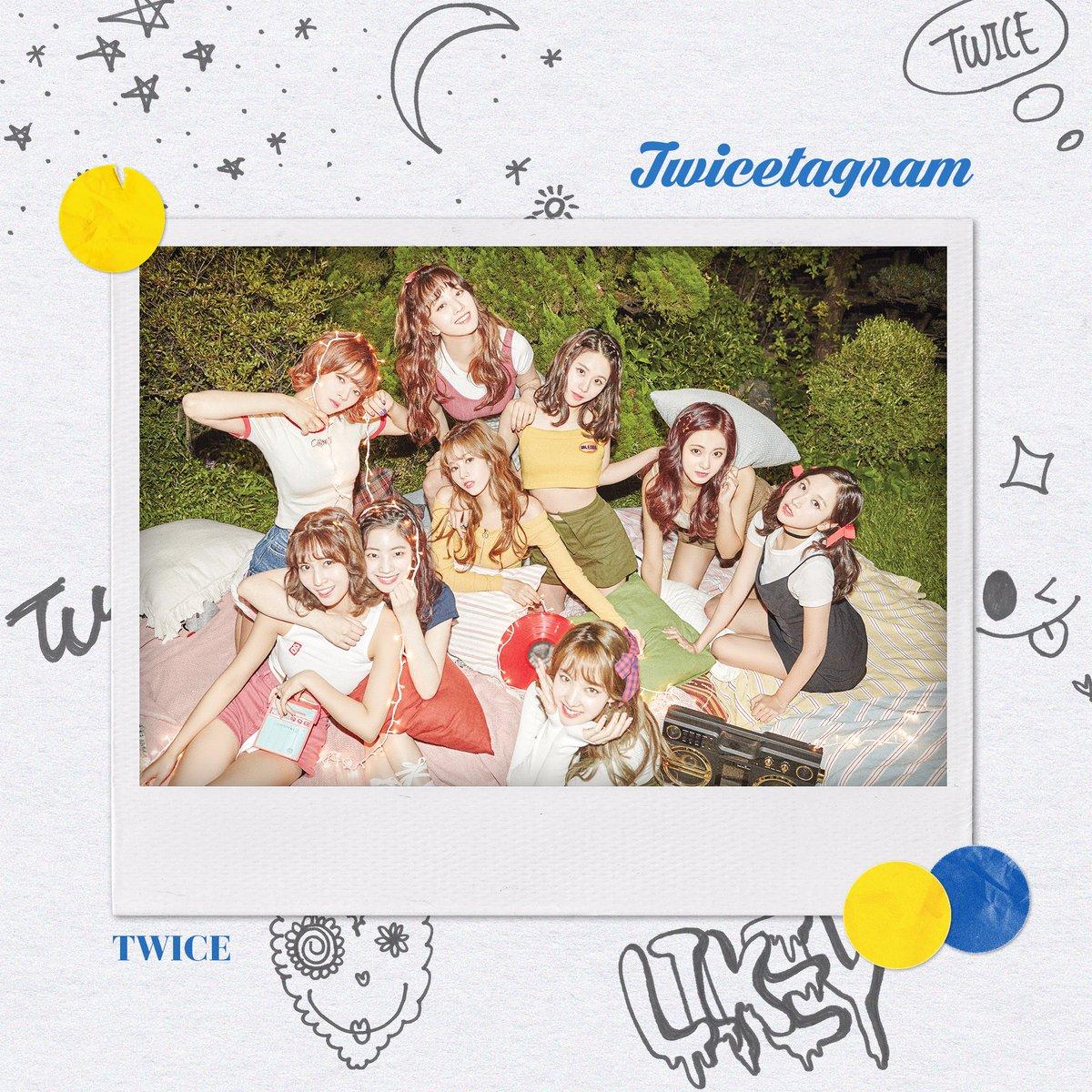 "Update: TWICE Reveals Lyrics Of ""Likey"" + Preview Photos Of First Full Album ""Twicetagram"""