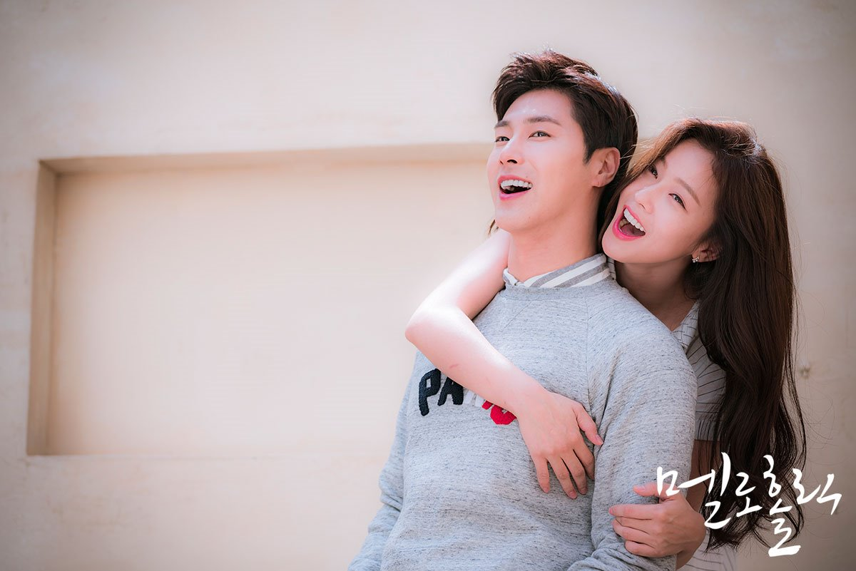 "TVXQ's Yunho and Kyung Soo Jin Are The Perfect Couple In Behind-The-Scenes Cuts Of ""Melo Holic"" Poster Shooting"