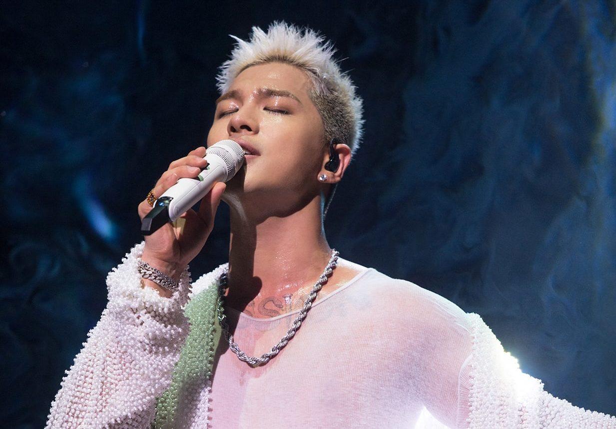 """Taeyang Expresses Hopes For BIGBANG's Return During """"White Night"""" World Tour In Singapore"""