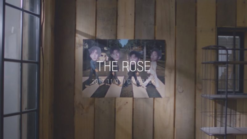"Watch: The Rose Reveals Melancholy MV Teaser For ""Like We Used To"""