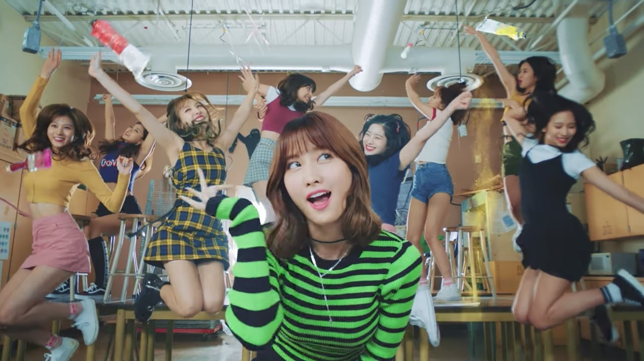 "Watch: TWICE Releases Bubbly And Fun Music Video For New Song ""Likey"""
