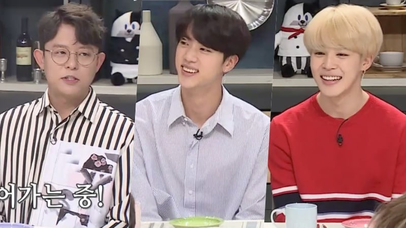 H O T's Tony Ahn Offers BTS's Jin And Jimin Realistic Advice