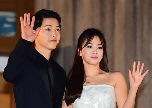 Song-Song couple share official wedding photos
