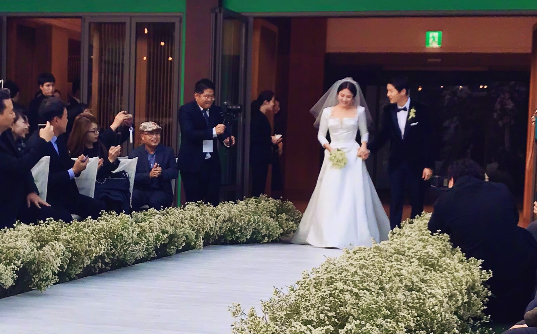 Song About Wedding.Fans Congratulate Song Song Couple With Songsongcouplewedding