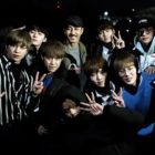 Wanna One Shares Photo With Cha Seung Won From Set Of Their Upcoming Music Video