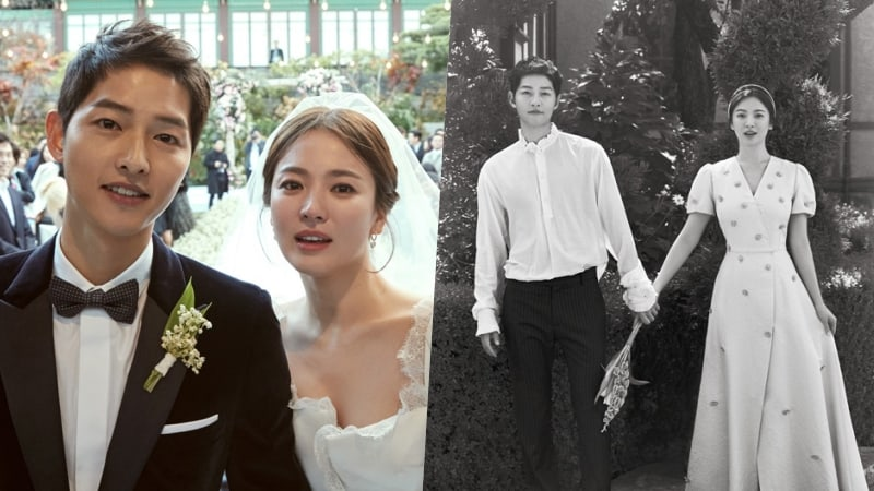 Song Joong Ki And Song Hye Kyo Release Gorgeous Wedding