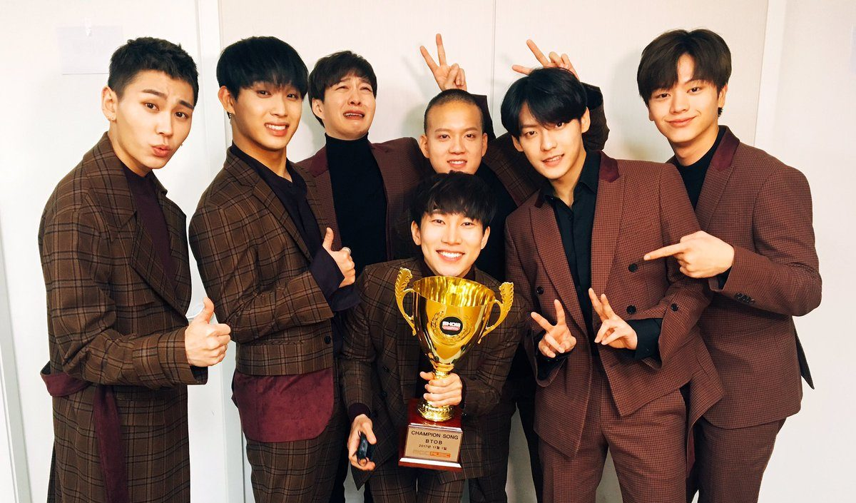 "BTOB Grabs 5th Win For ""Missing You"" On ""Show Champion"""