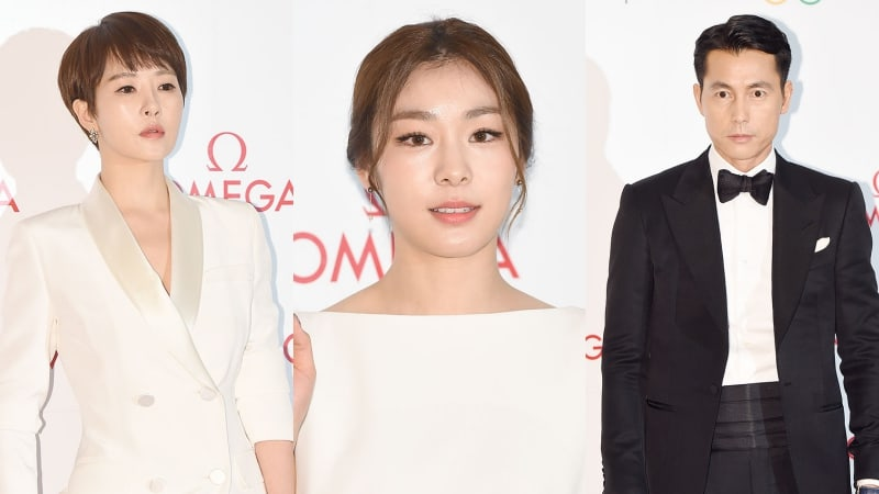 Stars And Athletes Attend Pyeongchang Olympics D-100 Gala Dinner