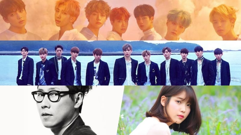 Industry Professionals Vote On K-Pop's Best Brand, Artist, And Song Of 2017