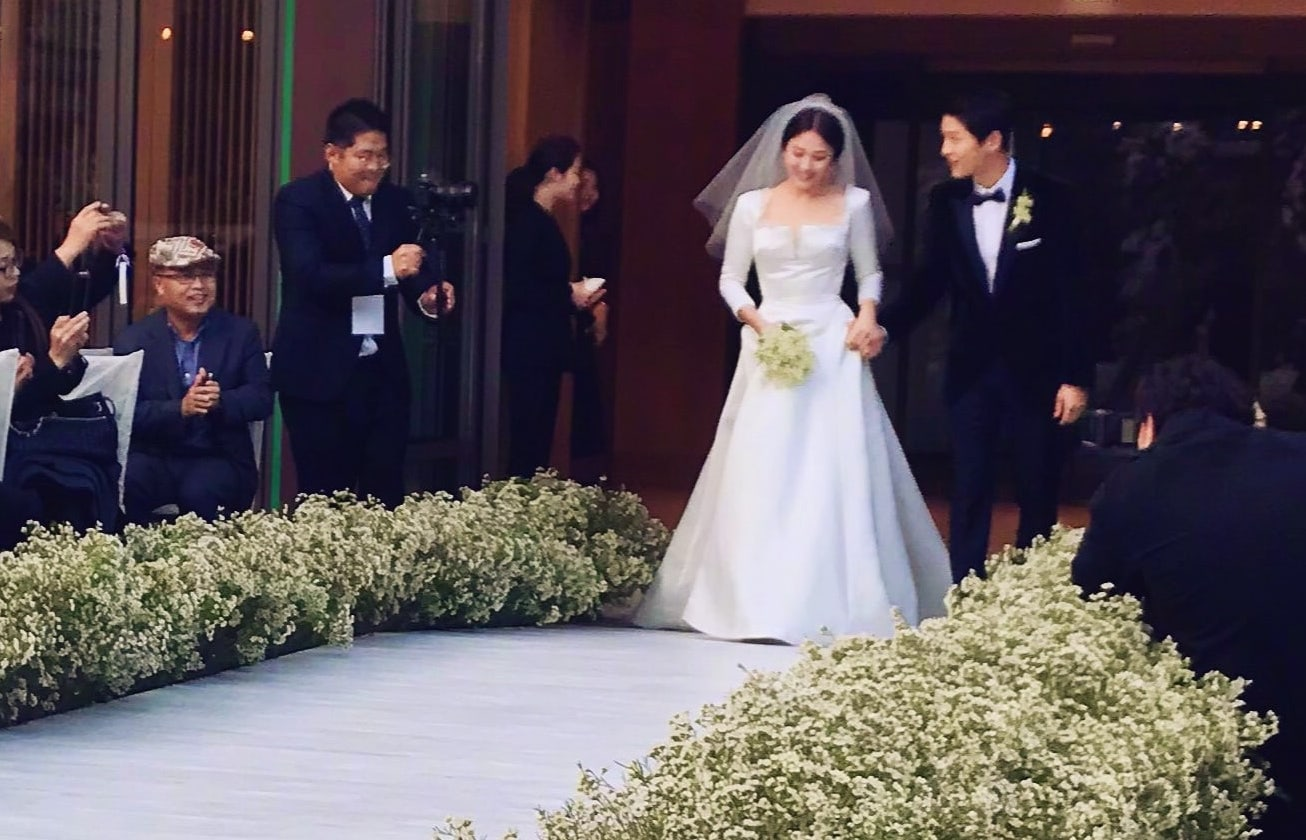 Christian Dior Reveals How Song Hye Kyo\'s Wedding Dress Was Made ...