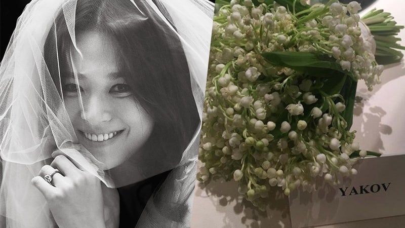 Song Hye Kyo's Expensive Wedding Bouquet Revealed To Be Gift From Friend