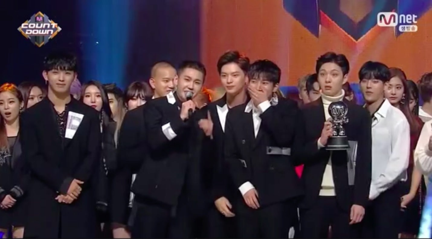 """Watch: BTOB Takes 6th Win For """"Missing You"""" On """"M!Countdown,"""" Performances By Taemin, TWICE, ASTRO, JBJ, And More"""