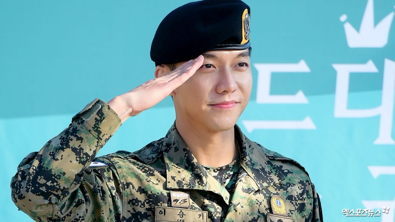 Lee Seung Gi Writes Heartfelt Letter To Fans About Struggles And Determination During Military Service