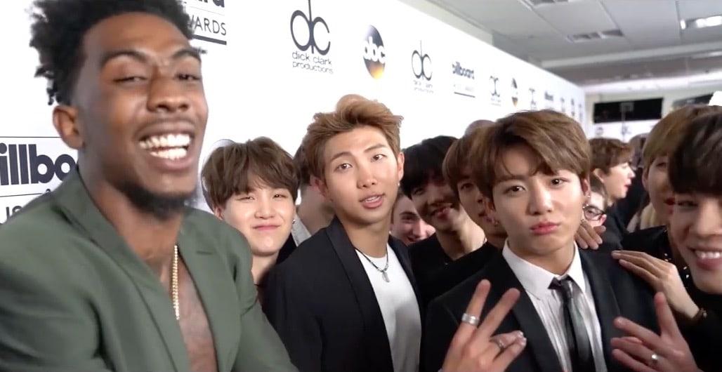 BTS And Desiigner Hint At Something Coming Up After Meeting At Billboard Music Awards