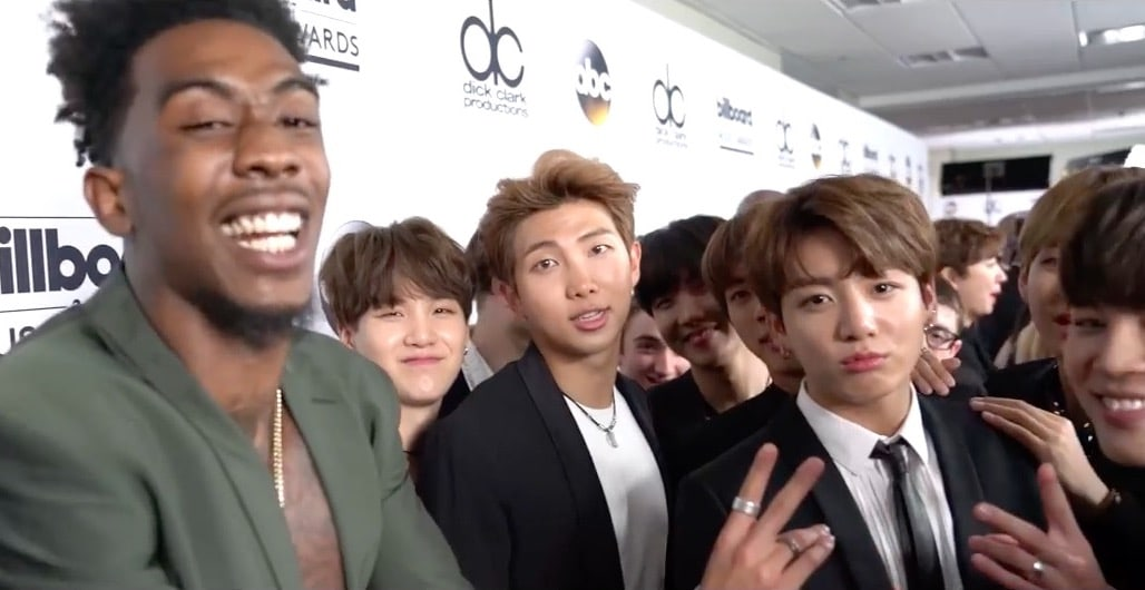 BTS And Desiigner Hint At Something Coming Up After Meeting At Billboard Music Awards