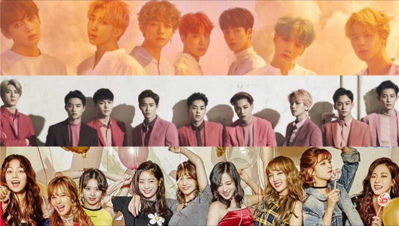 BTS, EXO, TWICE, And More Announced For 2nd Lineup Of 2017 MAMA