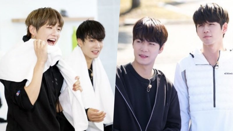 """New """"Master Key"""" Stills Tease Reunion Of NU'EST W's JR, And Wanna One's Kang Daniel And Ong Sung Woo"""