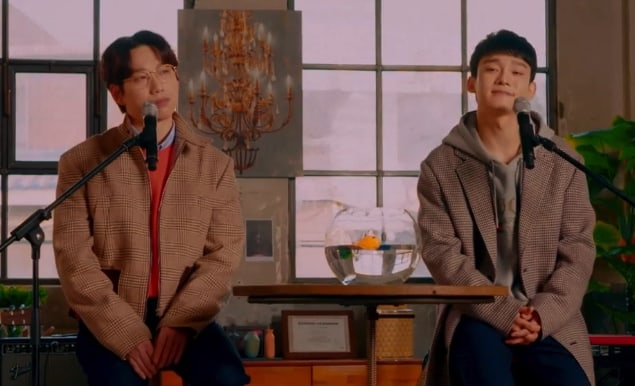 """Watch: EXO's Chen And 10cm Sing """"Bye Babe"""" In MV For Duet Track"""