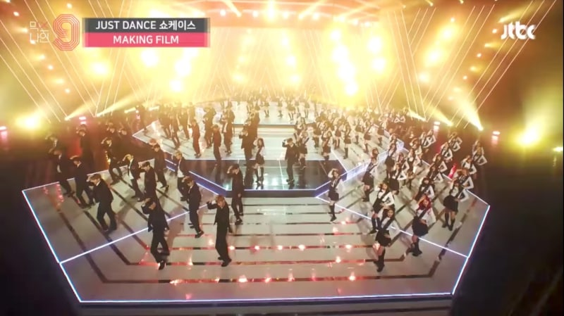 "Watch: ""MIXNINE"" Contestants Practice Their Hearts Out In Making Film Of ""Just Dance"""