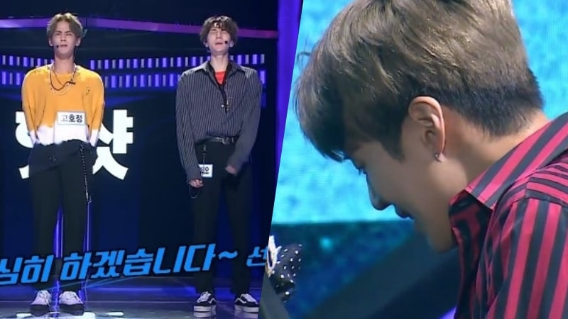 """Watch: HOTSHOT's Hojung And Timoteo Amaze On """"The Unit"""" + Bring Taemin To Tears"""