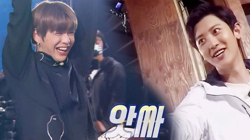 """Watch: Chanyeol Appeals To Kang Daniel's Inner EXO Fan Boy While Trying To Convince Him On """"Master Key"""""""