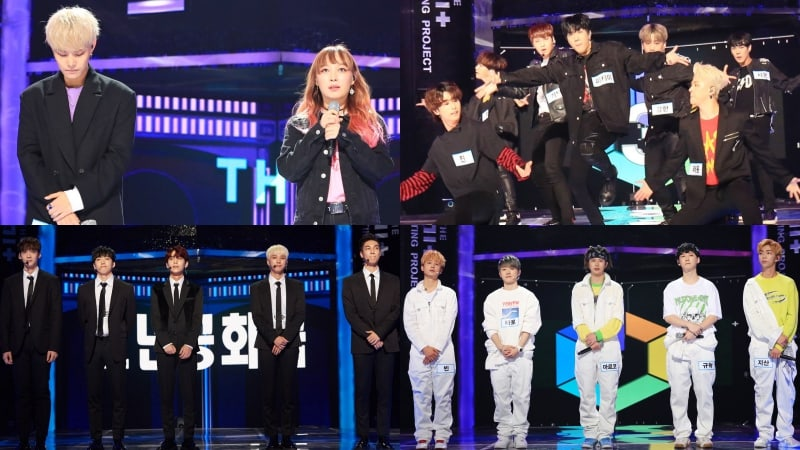 "Watch: Kanto, Kang Min Hee, MVP, Boys Republic, And H.B.Y Perform For Another Chance At Fame On ""The Unit"""