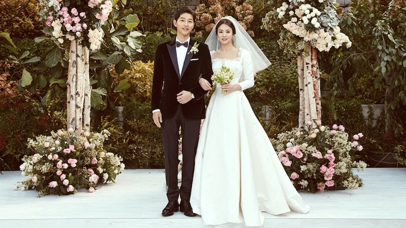 Christian Dior Reveals How Song Hye Kyos Wedding Dress Was Made