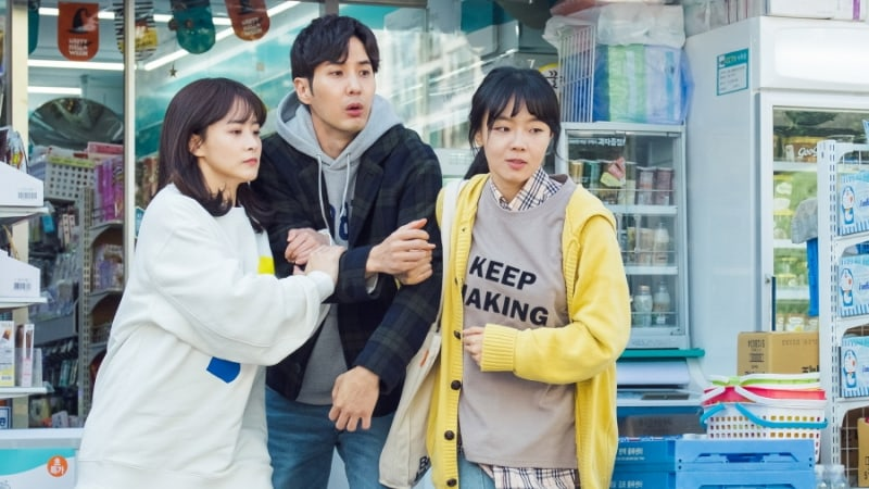 "Kim Ji Suk Is Hilariously Interrogated In New ""20th Century Boy And Girl"" Stills"
