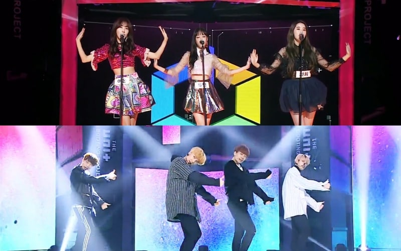 "Watch: Melody Day And IM Receive Super Boot With Outstanding Performances On ""The Unit"""