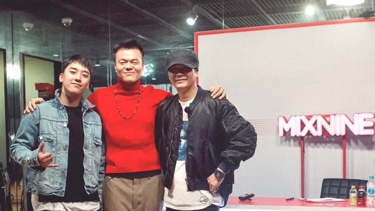 """Yang Hyun Suk And Park Jin Young Hilariously Diss Each Other Again On """"MIXNINE"""""""