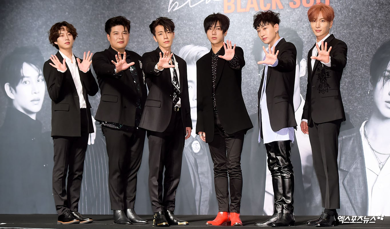 """Super Junior Talks About New Track """"Black Suit"""" And Dancing In Their 30s"""
