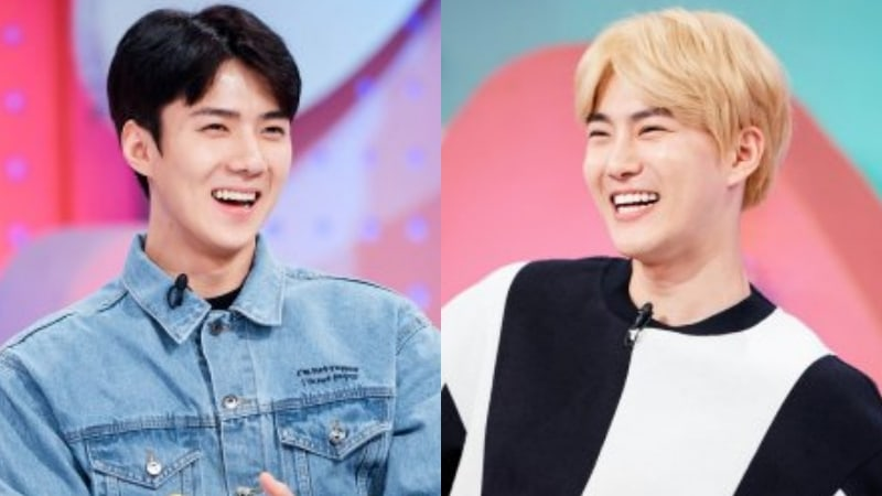 """EXO's Suho Says Sehun Almost Appeared On """"Hello Counselor"""" Because Of Him"""