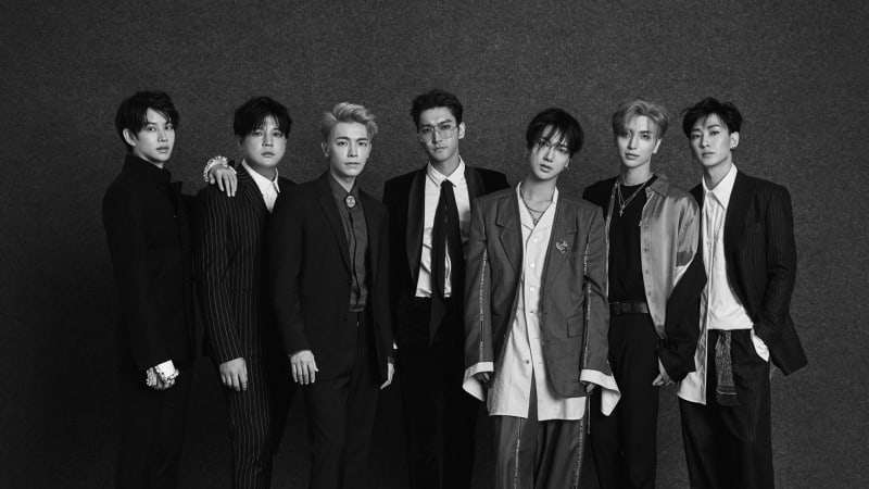 Super Junior Hits No. 1 On Music Chart Amidst Stiff Competition