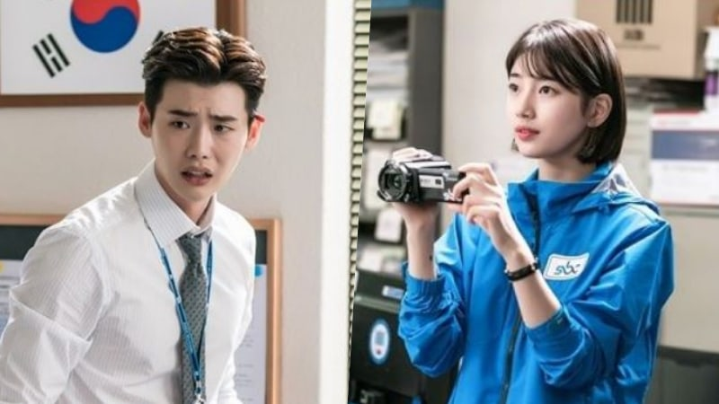 """Lee Jong Suk Is Flustered By Suzy In """"While You Were Sleeping"""" Stills"""