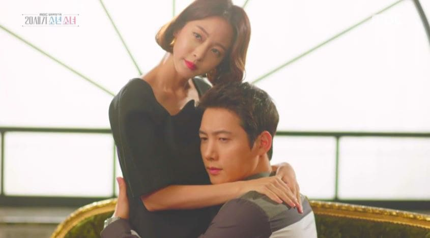 "Han Ye Seul Is A Successful Fan Of Lee Sang Woo In ""20th Century Boy And Girl"""