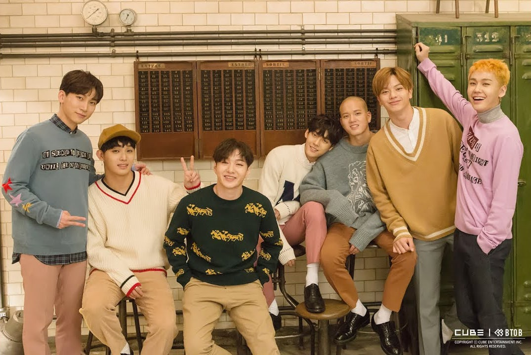 "BTOB Grabs First Win With ""Missing You""; Soompi's K-Pop Music Chart 2017, November Week 1"