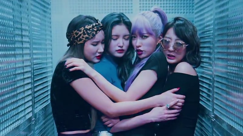 "Watch: EXID Is Here To Impress With MV For ""DDD"""