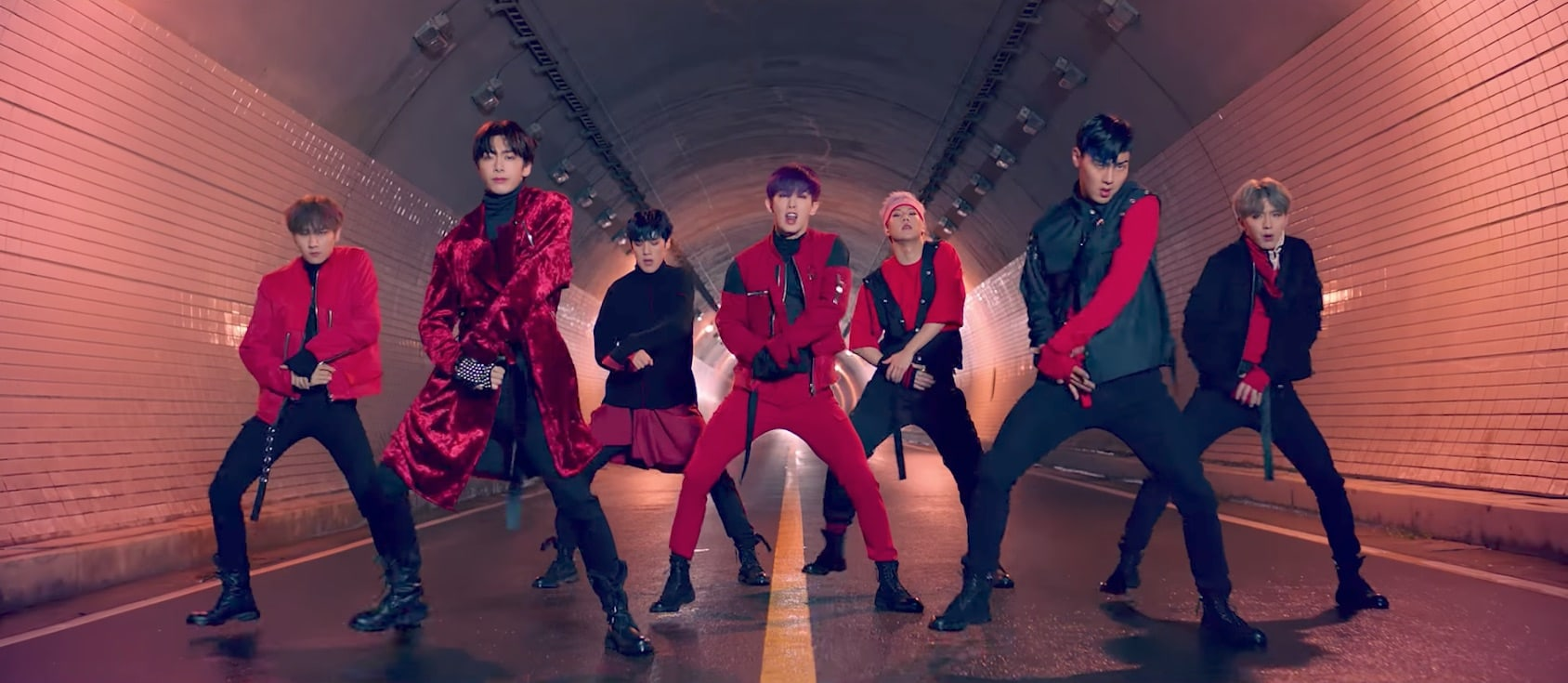 "Watch: MONSTA X Returns With Powerful And Cinematic ""Dramarama"" MV"