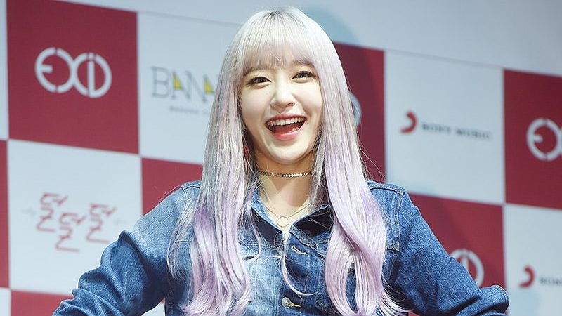 EXID's Hani Shares Story Behind Her New Hair