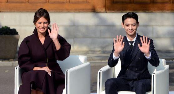 SHINee's Minho Meets US First Lady Melania Trump At 2018 Pyeongchang Olympics Event