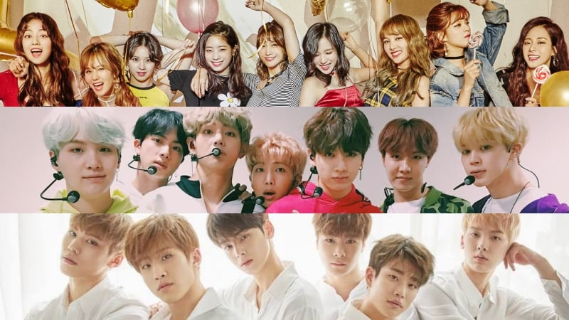 TWICE, BTS, And ASTRO Take Spots In Top 5 Of Billboard's World Albums Chart