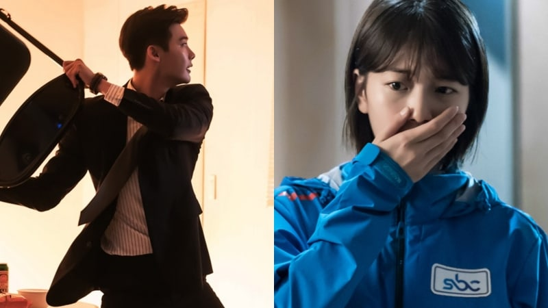 """Lee Jong Suk And Suzy Find Themselves In A Deadly Situation In """"While You Were Sleeping"""" Stills"""