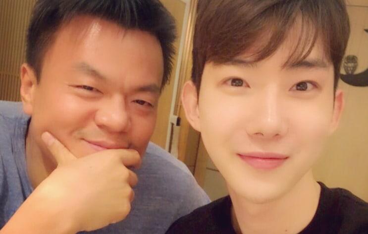 Former Jyp Artist Jo Kwon Shares Selfie With Park Jin Young Soompi